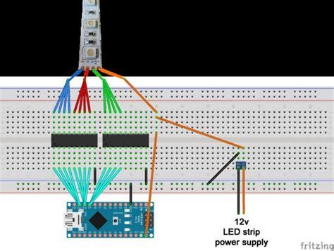 darlington transistor array arduino driving rgb led strips an arduino 3