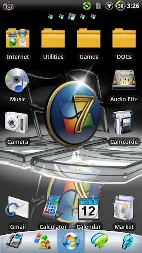 theme apk windows 7 windows 7 go launcher ex theme apk download for android
