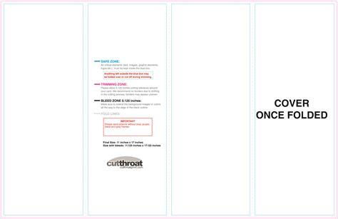 Accordion Fold Brochure Templates Cutthroat Printcustom Brochure Printing