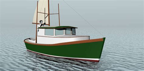 small displacement motor boat displacement power boats to 30 small boat designs by tad
