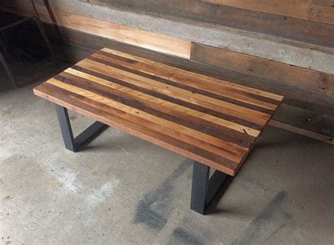 Butcher Block Coffee Table Reclaimed Wood Butcher Block Coffee Table What We Make