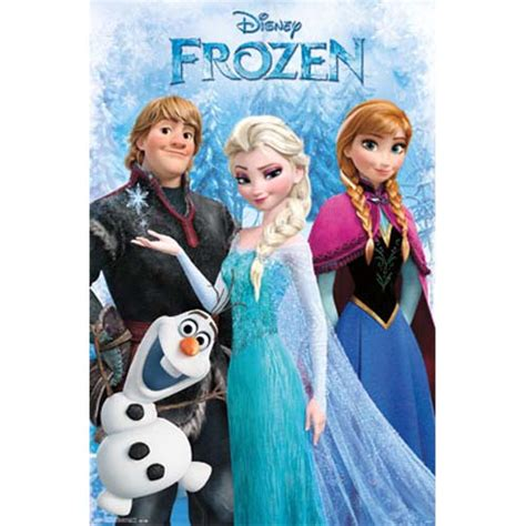 printable frozen poster your wdw store disney poster frozen group anna