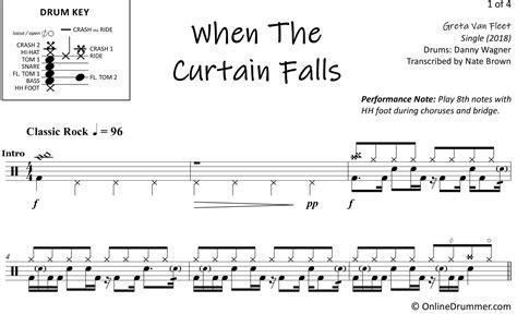 greta van fleet guitar tabs the curtain falls sheet music curtain menzilperde net