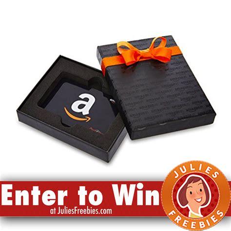 Amazon Gift Card Into Cash - 2 winners win a 125 amazon gift card julie s freebies