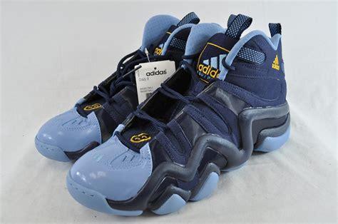 adidas torsion system basketball shoes adidas 8 g23685 navy blue light blue basketball