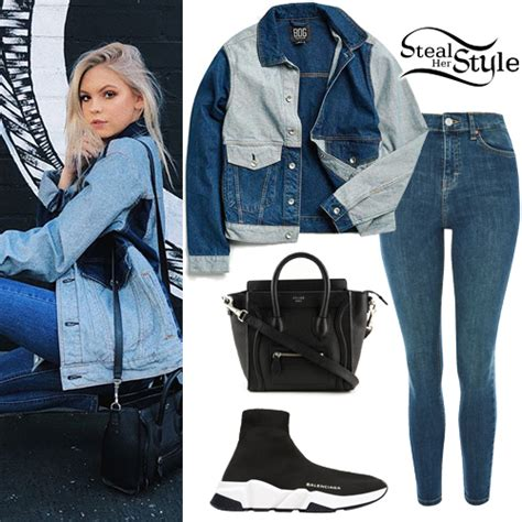 jordyn jones clothes outfits steal  style