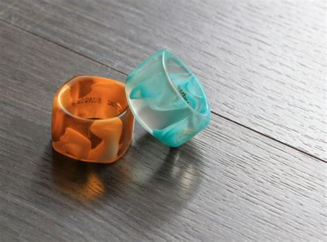 Dinosaur Designs Resin Rings by Top 15 Aussie Souvenirs To Bring Home From Sydney