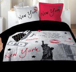 Housse De Couette New York 2 Personnes by Linge De Lit Housse De Couette 2 Personnes De