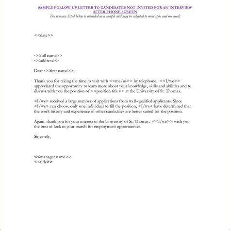 Decline Letter To Candidate proper sle candidate rejection letter letter format