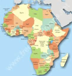 Countries Of Africa Map by Map Of Africa Free Large Images
