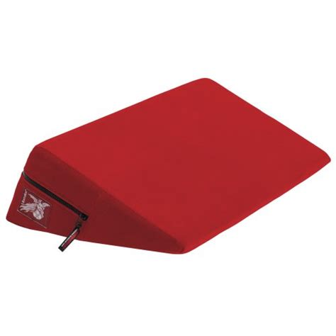 liberator bedroom gear liberator 24 inch wedge red microfiber liberator