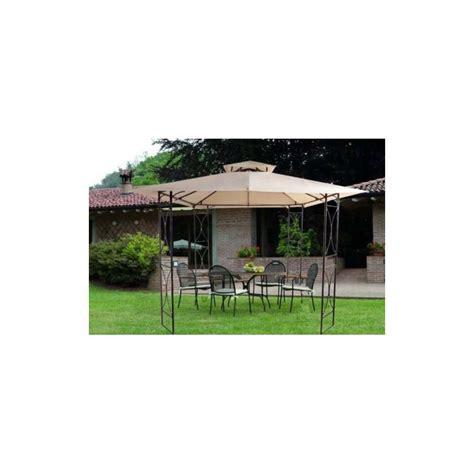 gazebo da giardino in ferro battuto gazebo da giardino 3x3 solida struttura in ferro battuto