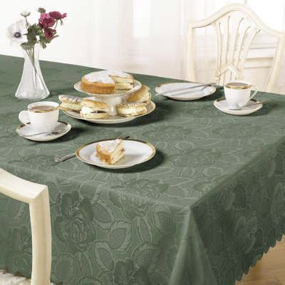 Green Forest Table Cloth 110160 barclay damask tablecloth ebay
