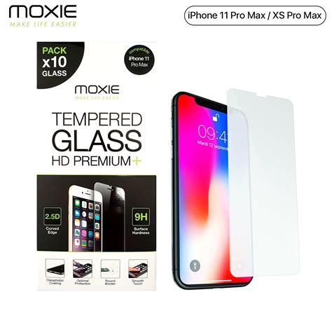 pack  protection decran en verre trempe iphone xs