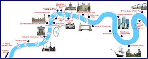 river thames attractions map map of thames piers for boat hire in london capital