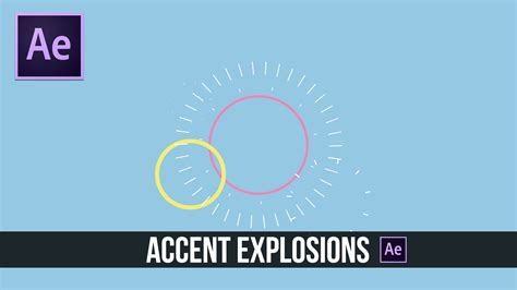 tutorial motion design after effects after effects tutorial accent explosion 2d motion