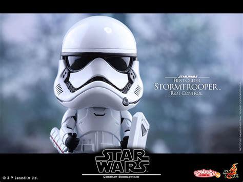 Hottoys Cosbaby Trooper Order ホットトイズ コスベイビー ファースト オーダー ストームトルーパー ライオット コントロール版 予約開始 フィグニュース