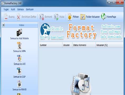 format factory adalah format factory 2 60 an atsa tkj