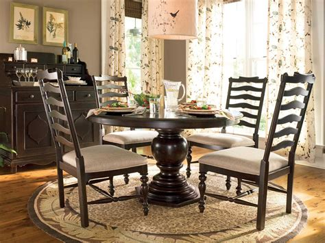 paula deen home tobacco dining side chair sold in sets of