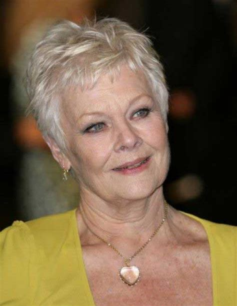 how to style judi dench pixie 20 short haircuts for over 60 short hairstyles