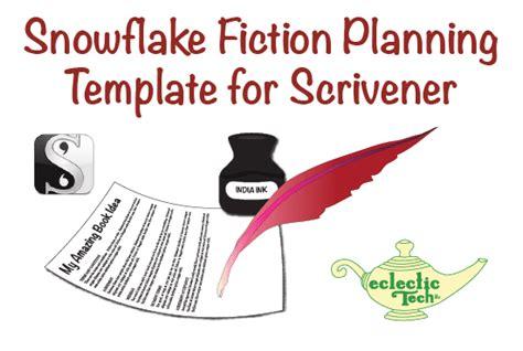 Provide A Snowflake Method Scrivener Template By Eclectictllc Scrivener Snowflake Template