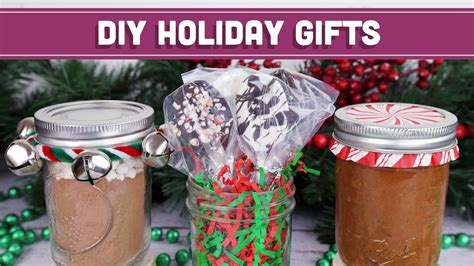 healthy diy edible christmas gifts easy holiday recipes