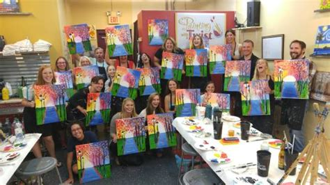 paint with a twist sarasota quot morning walk quot 2 hour class picture of painting with a
