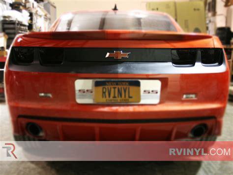 chevy camaro tail light covers rtint 174 chevrolet camaro 2010 2013 tail light tint film