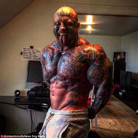 bodybuilders with tattoos weightlifter jens dalsgaard has 40 tattoos and