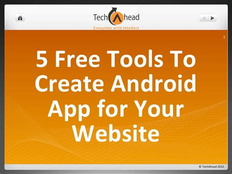 how to create android app for wapka site online free 5 free tools to create android app for your website