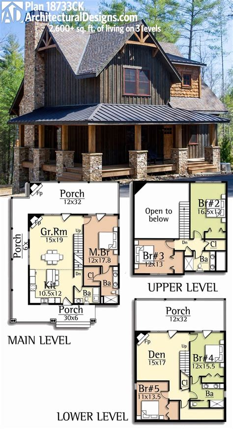 One Story Lake House Plans by One Story Lake House Plans Escortsea