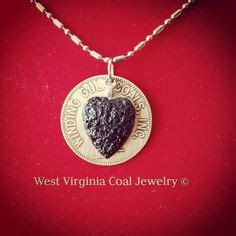 west virginia coal jewelry on coal miners