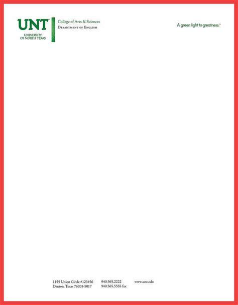 business letterhead standards standard letterhead format memo exle