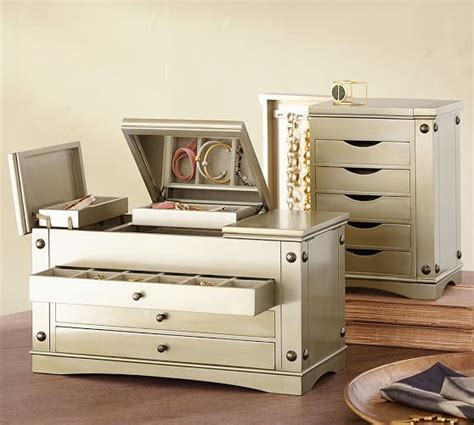 jewelers desk pottery barn gorgeous inspiration jewelry furniture