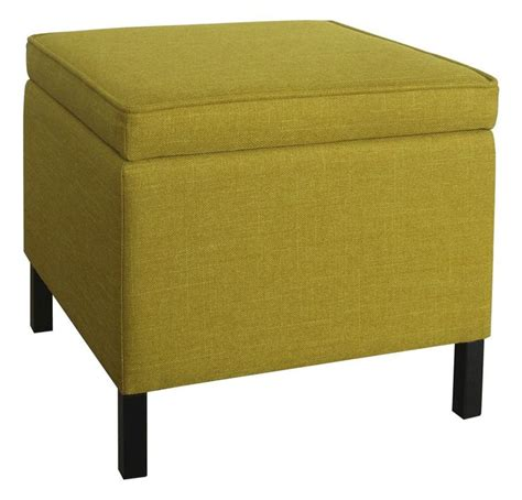 room essentials storage room essentials storage ottoman yellow decorating house ottomans room