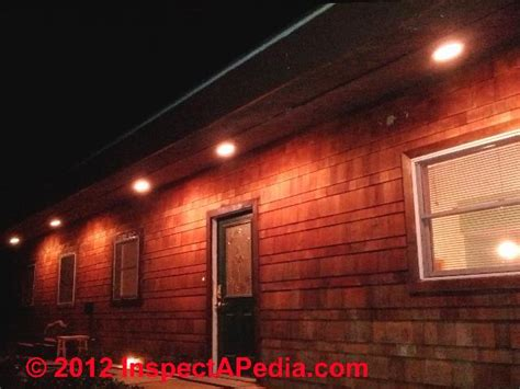 outdoor lighting under eaves decor kitchens and interiors