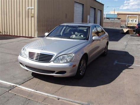 2003 Mercedes S430 by Buy Used 2003 Mercedes S430 Base Sedan 4 Door 4 3l In