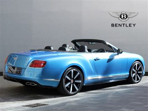 custom bentley convertible used 2014 bentley continental gt convertible v8s for sale
