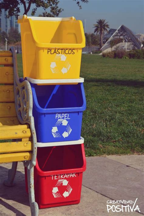 letreros con reciclaje 9 best contenedores de reciclaje images on pinterest