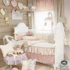 modern bedroom furniture with pink shabby chic nursery
