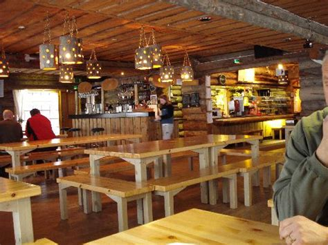 Cabin Restaurants by Piste Log Cabin Restaurant Salla Piste Bottom Picture Of Salla Lapland Tripadvisor