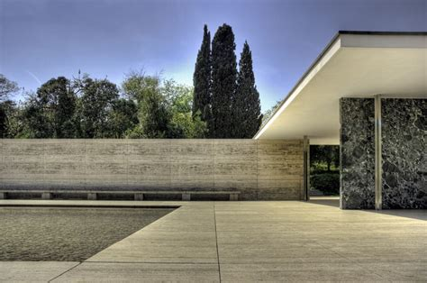 pavillon mies der rohe ad classics barcelona pavilion mies der rohe