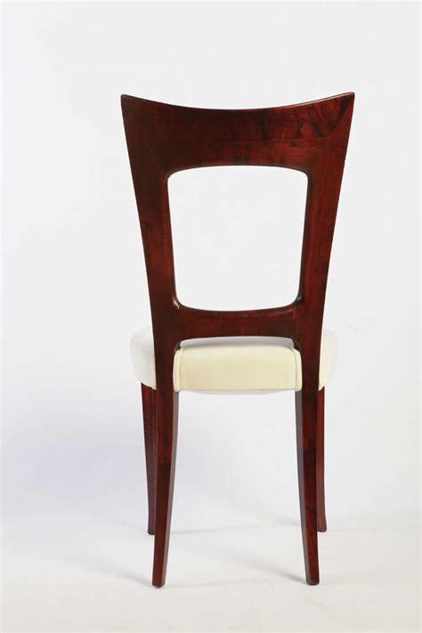 osvaldo borsani set six chair at 1stdibs