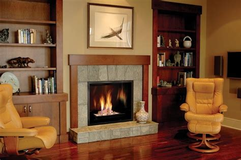 town country 42 inch gas fireplace traditional