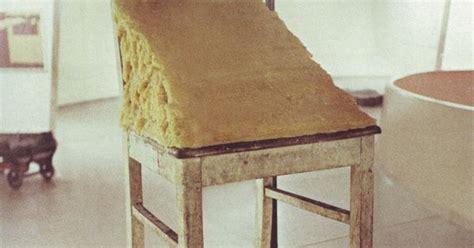 joseph beuys stuhl mit fett stuhl mit fett chair joseph beuys 1981 wooden