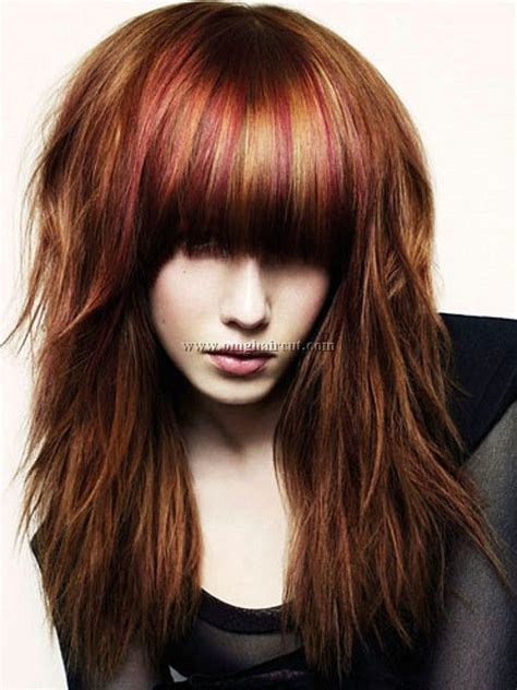 hairstyles with bangs highlights and low lights short curly hair with highlights bold hair highlights