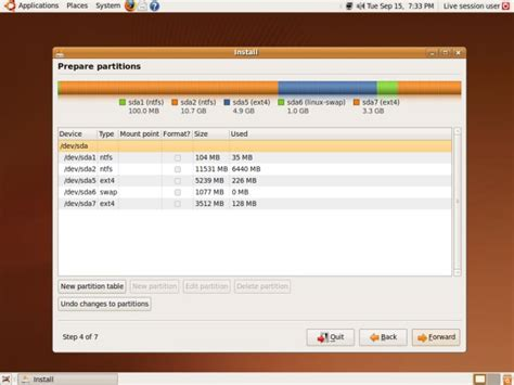 format gpt partition ubuntu how to install windows 7 and ubuntu side by side