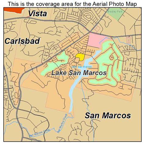 san marcos ca map aerial photography map of lake san marcos ca california