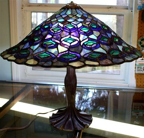 Stained Glass Desk Ls by Style Stained Glass Table L Ebay
