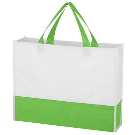 non woven prism tote bag printed shopping bags